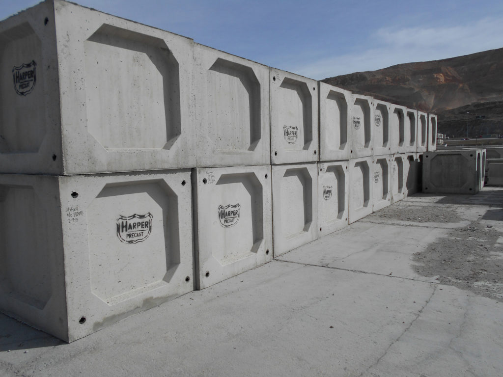 Knock Out Boxes Salt Lake City Utah Harper Precast